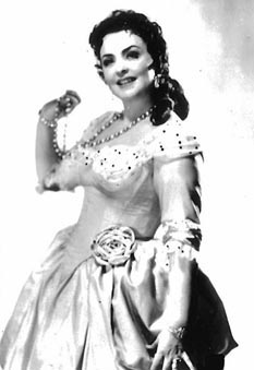 Dragica Martinis kao Manon Lescaut, Bečka državna opera 1956.-1958.
