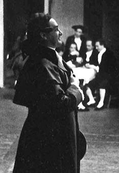Josip Gostič kao Chevalier des Grieux, Zagreb, 1941.