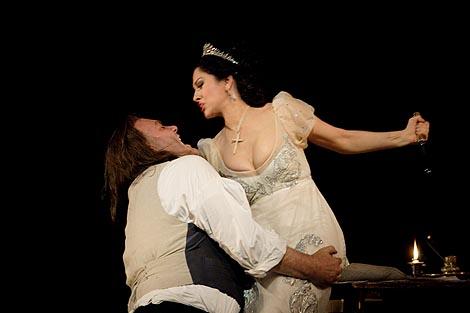 Royal Opera House London, Giacomo Puccini, Tosca, dir. Antonio Pappano, red. Kasper Holten, foto: Catherine Ashmore